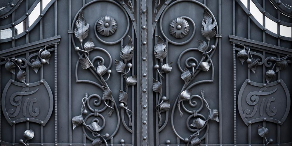 Les palmettes pour portail