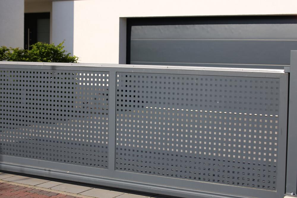 Réparation de portail en aluminium