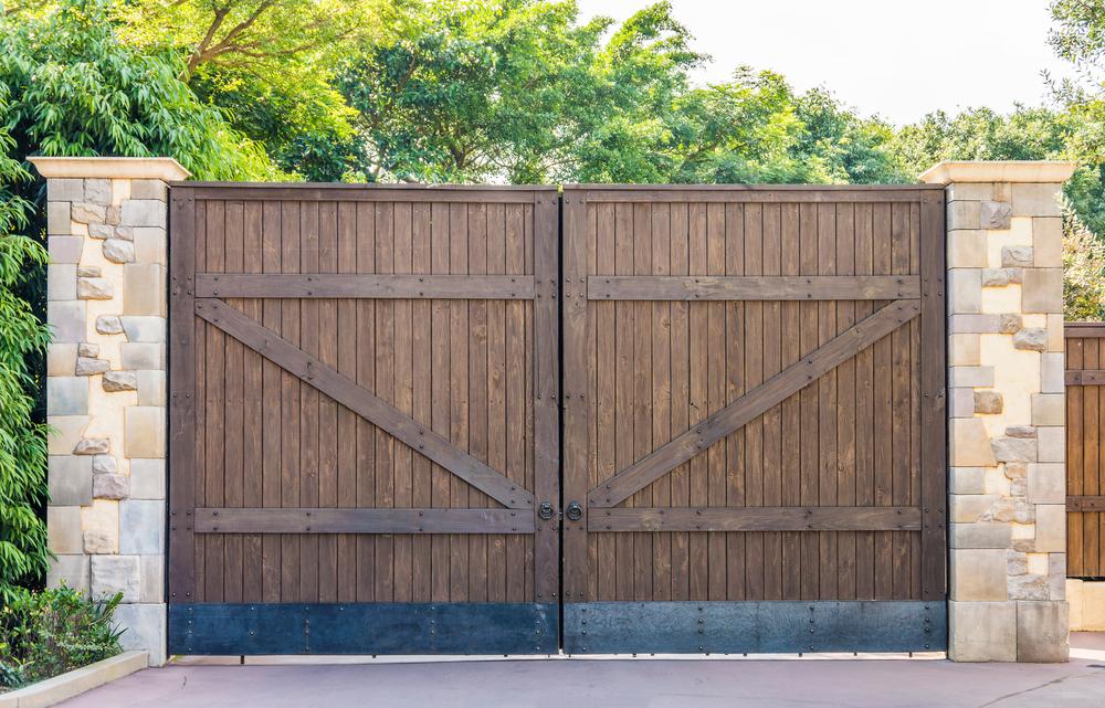 poignée pour portail