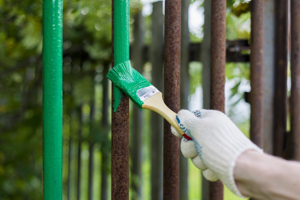 la couleur d'un portail