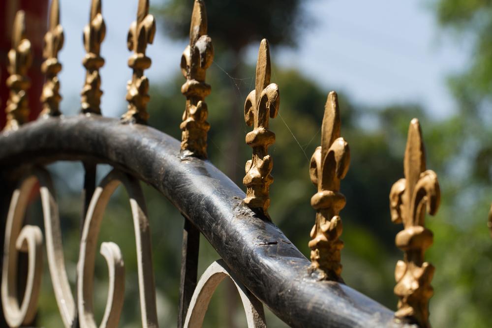 embout décoratif portail