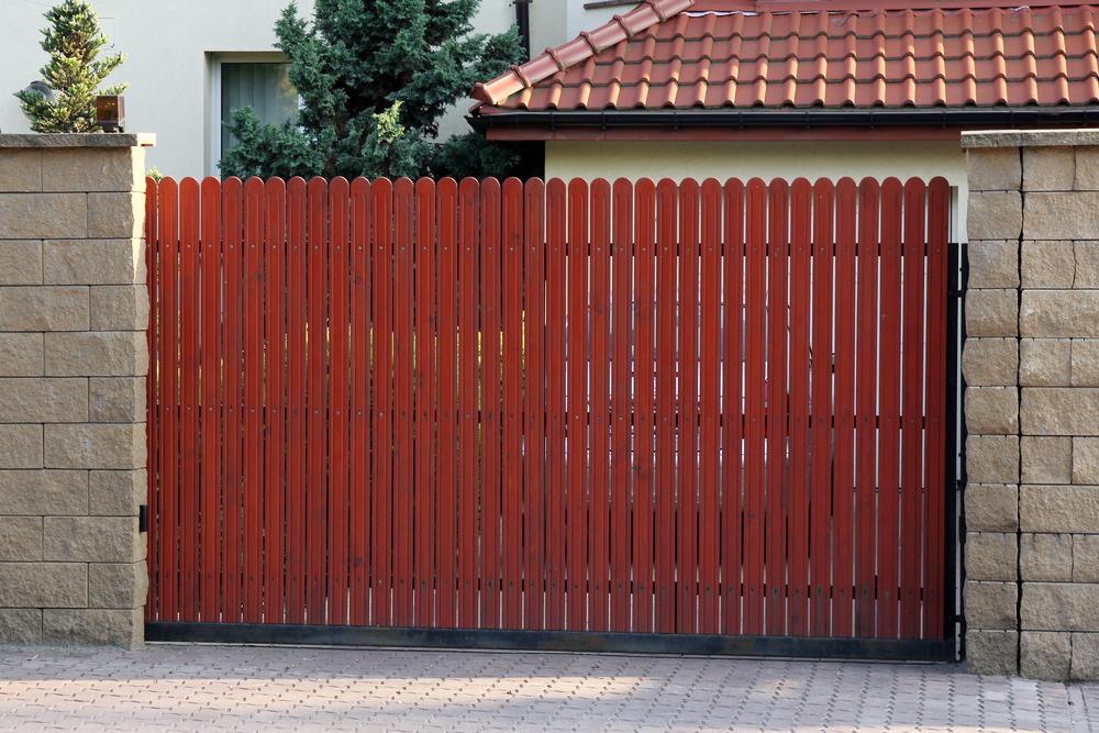 essence de bois portail