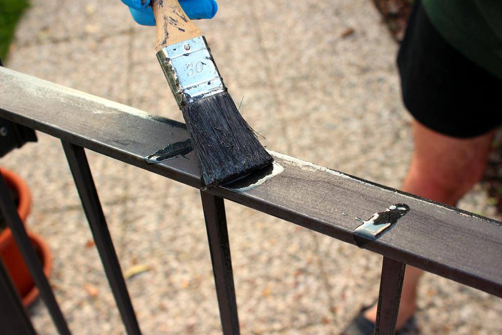peinture portail aluminium